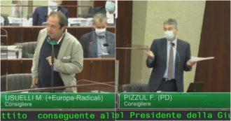 """""""Fontana si è contraddetto sui camici e ha detto bugie ai lombardi"""", le opposizioni in Consiglio attaccano il presidente"""