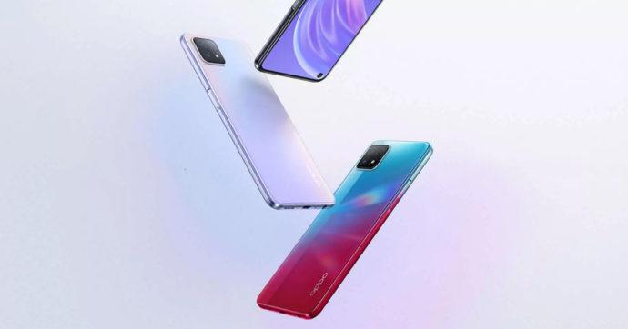 Oppo A72 5G, ufficiale la variante dello smartphone di fascia media: tante novità, non tutte positive