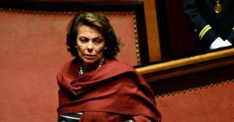 """Senato, anche Sandra Lonardo lascia Forza Italia per il gruppo Misto: """"Questa deriva salviniana non è nel mio stile"""""""