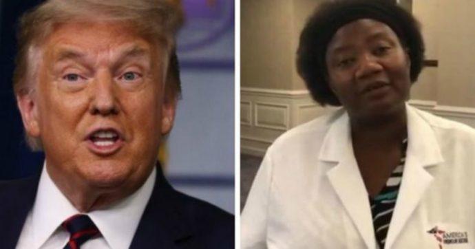 """Stella Immanuel, dalle cure con il Dna alieno al sesso con demoni e streghe: chi è la dottoressa diventata """"eroina"""" del presidente Trump"""