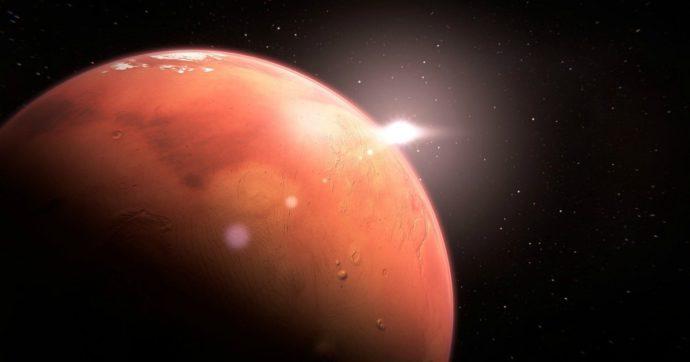 Marte, una rete di laghi salati sotto i ghiacci del polo Sud. La scoperta degli scienziati italiani