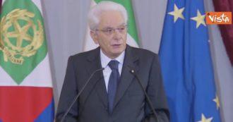 """Fondi Ue, Mattarella alla cerimonia del Ventaglio: """"Chiamati a fare la nostra parte. Uso risorse sia tempestivo, concreto ed efficace"""""""