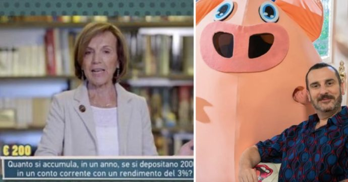 Elsa Fornero nel cast del quiz di RaiDue: domandine e domanducce con tanto di grosso maiale in studio