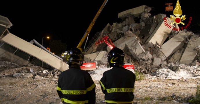 """Ponte Morandi, """"non c'è nulla da celebrare"""". I vigili del fuoco scrivono ai parenti delle vittime che non parteciperanno all'inaugurazione"""