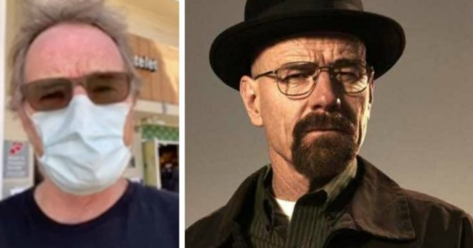 """Bryan Cranston di Breaking Bad: """"Ho avuto il Covid-19 anch'io, indossate quella dannata mascherina"""""""