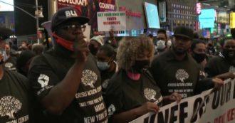 New York, anche il fratello di George Floyd nella marcia contro la violenza della polizia