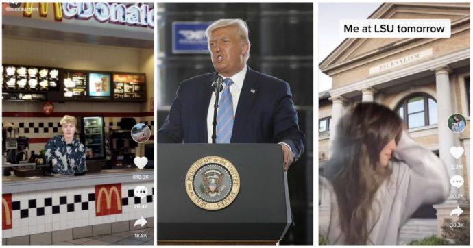 """Trump vuole vietare TikTok negli Usa, i giovani tiktoker in rivolta: """"Abbiamo bisogno di questa me**a"""". E si preparano a sbarcare su Triller"""