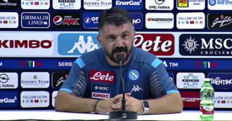 """Napoli-Lazio, Gattuso dopo la lite avuta con il collaboratore di Inzaghi: """"Meritavo l'espulsione, abbiamo acceso troppo i toni"""""""