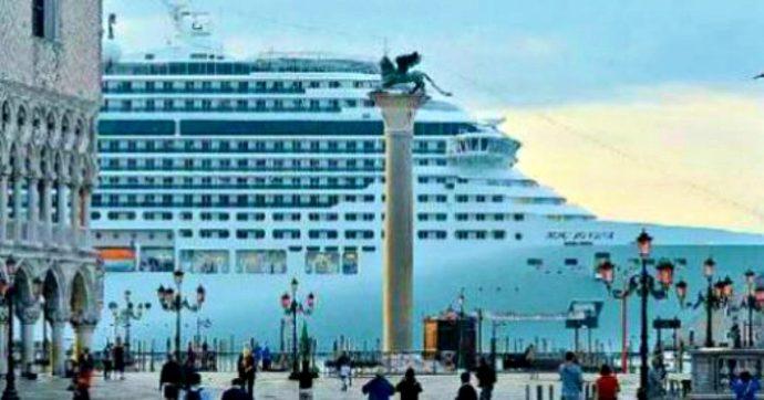 """Grandi Navi, la sfida degli attivisti che dicono no alle crociere: """"Bloccheremo le bocche di porto della laguna di Venezia"""""""