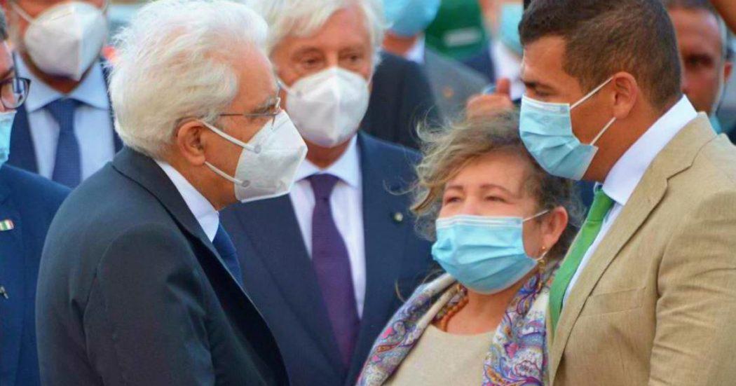 """Ponte di Genova, l'inaugurazione. Conte: """"L'Italia sa rialzarsi"""". Mattarella incontra i parenti delle vittime: """"Le responsabilità hanno sempre un nome e cognome'"""""""