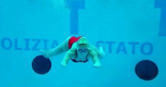 """Bebe Vio si allena in piscina: """"Mi sentivo come la Sirenetta…ma a lei poi sono cresciute le gambe"""""""