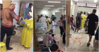 """Beirut, ospedali al collasso dopo l'esplosione: feriti curati nei corridoi e nei parcheggi: """"Una catastrofe"""""""