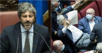 """Camera, Fico: """"Sgarbi sospeso per 15 giorni dall'Aula dopo insulti a Carfagna e Bartolozzi"""". Lui gli risponde: """"Sei solo un fascistello"""""""