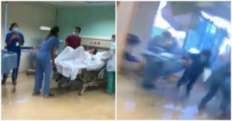 Beirut, l'esplosione colpisce la sala parto mentre sta per partorire: il piccolo George nasce sano