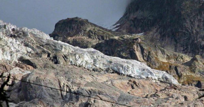 Valle d'Aosta, allerta massima per il ghiacciaio in Val Ferret: cruciale l'andamento delle temperature nelle prossime ore