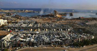 """Beirut, """"un boato improvviso, fortissimo, eravamo smarriti"""": il racconto del militare italiano ferito nell'esplosione"""