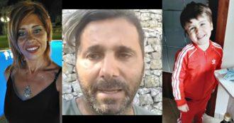 """Mamma e figlio scomparsi sulla Messina-Palermo, il videoappello del marito sui social: """"Torna a casa, ti aspettiamo"""""""