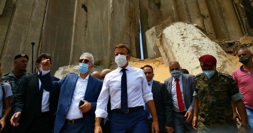 """Beirut, 157 morti e 5mila feriti. Arrestati 16 funzionari del porto. Onu: """"Stanzieremo almeno 9 miliardi di dollari"""". Macron vola in Libano."""