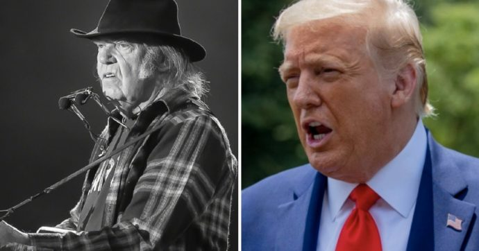 Neil Young fa causa a Donald Trump
