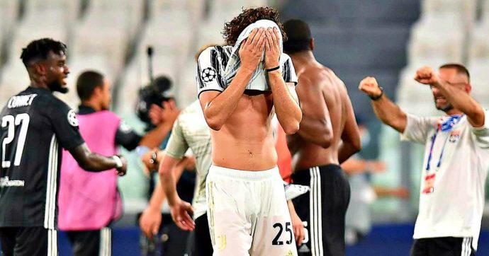 Juve lenta, senza idee, senza rabbia: batte il Lione, ma è fuori dalla Champions League. Il solo Ronaldo prova a trascinarla ma non basta