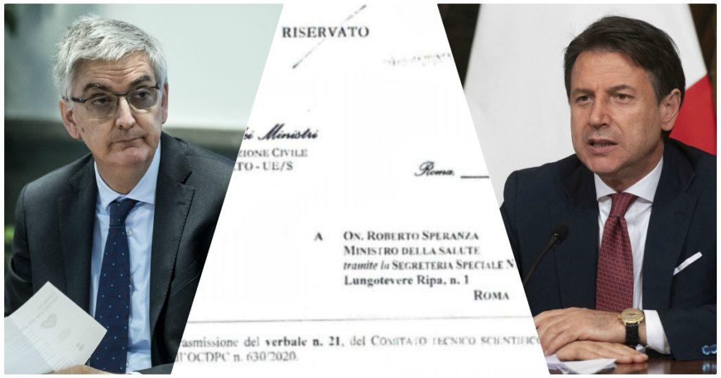 """""""Lockdown per tutta Italia? Nessun contrasto tra governo e noi del Comitato, in quei giorni cambiava tutto velocemente"""". La ricostruzione dell'uomo dei verbali del Cts"""