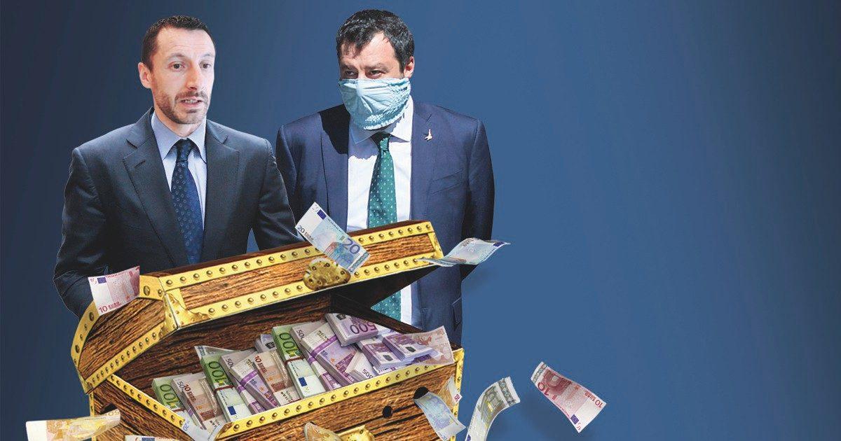 """Lega: altre operazioni sospette Dodici bonifici a """"The King"""""""