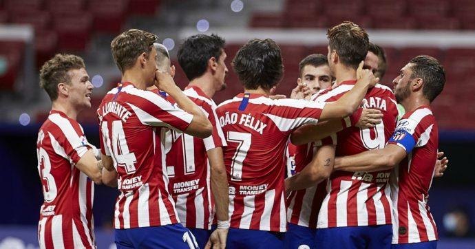 Due tesserati dell'Atletico Madrid positivi al coronavirus: la Champions con il fiato sospeso