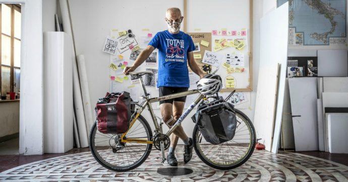 """Fotografie in cambio di ospitalità: il ciclo-viaggio solitario da Torino a Taranto """"alla ricerca dell'altro al tempo del Covid"""""""
