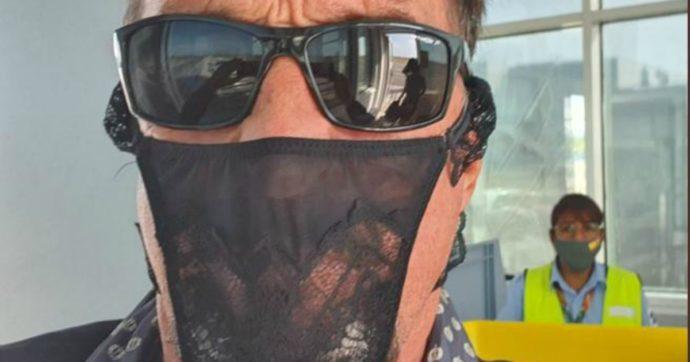Indossa un tanga come mascherina: arrestato John McAfee, il fondatore dell'antivirus