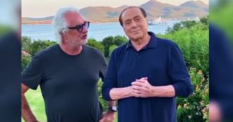 Briator e Berlusconi insieme in Costa Smeralda: