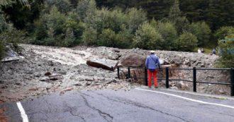 Frana in Valmalenco, auto colpita dai detriti e trascinata nel torrente: tre morti, tra cui una bambina