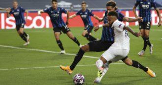 Atalanta-Psg, la Dea si ferma a pochi minuti dal sogno: i francesi rimontano al 92esimo il vantaggio di Mario Pasalic