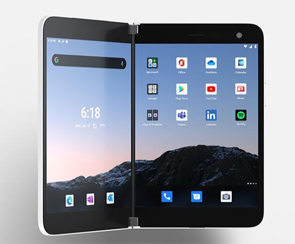 Microsoft Surface Duo, ufficiale lo smartphone pieghevole con doppio display