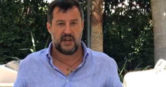 """Bonus ai politici, la teoria di Salvini sui """"furbetti"""" della Lega: """"Non saranno ricandidati, ma l'errore più clamoroso è dell'Inps"""""""