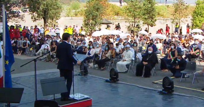 """Due anni fa crollò il ponte Morandi. Conte ai familiari delle vittime: """"Con voi nella richiesta di giustizia"""". Di Maio: """"Solo con Benetton via"""""""