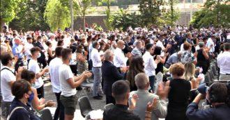 """Morandi, due anni dopo. Conte ai parenti delle vittime: """"Non vi lasceremo soli nella richiesta di verità, siamo al vostro fianco"""""""