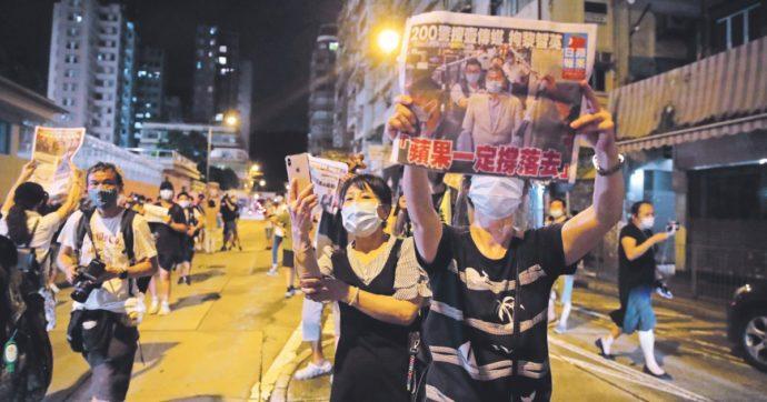 Come a Hong Kong, temo che pure da noi si arrivi a risolvere i problemi con le cattive
