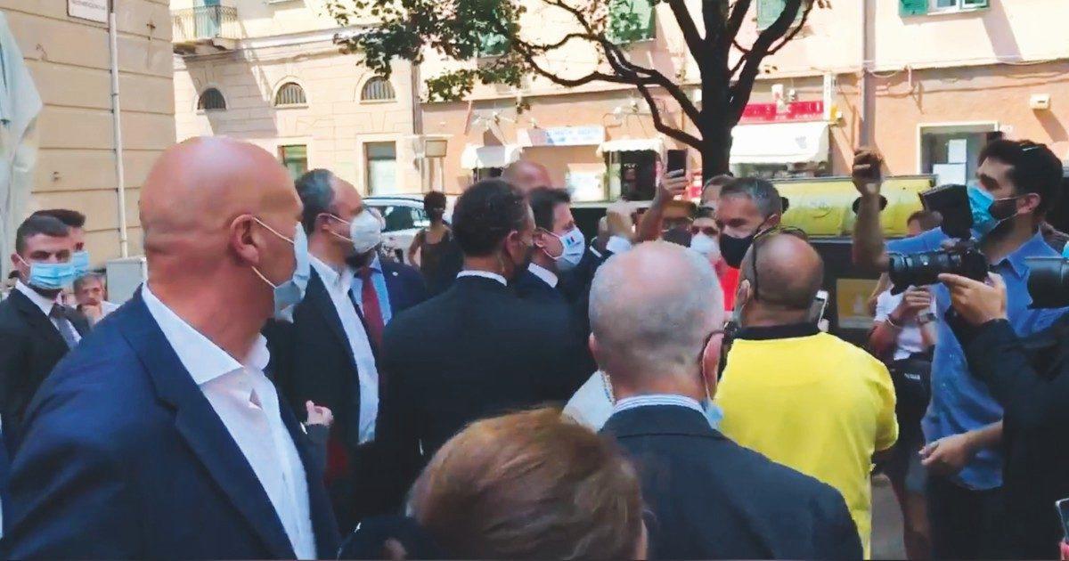 Liguria: Conte incontra Sansa