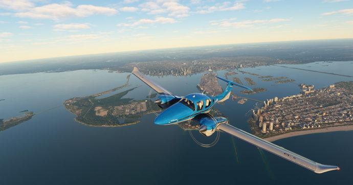 Microsoft Flight Simulator: un primo sguardo al simulatore di volo next-gen