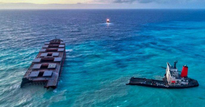 Mauritius, arrestato il capitano della petroliera incagliata su una barriera corallina