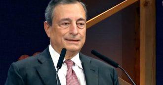 """Draghi al Meeting Cl: """"Pandemia minaccia economia e società. Sussidi servono a ripartire, ma ai giovani bisogna dare di più"""""""