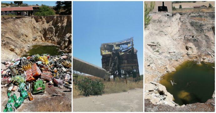 """Sicilia, un crollo alla miniera di Racalmuto provoca una voragine profonda 30 metri: """"Mai bonificata, può causare altre frane"""""""