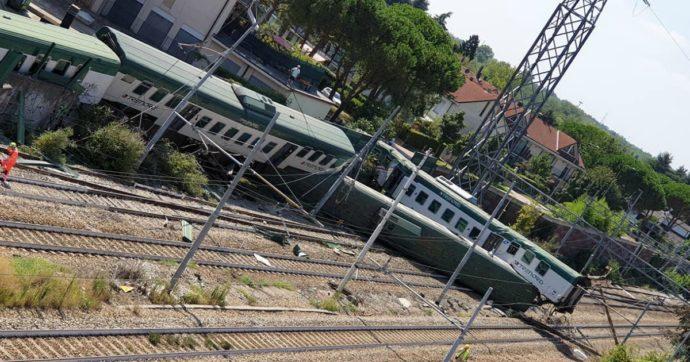Treno deragliato a Carnate, sospesi il capotreno e il macchinista. Indagini della procura di Monza su mancata sorveglianza