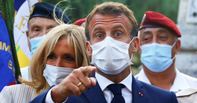 """Coronavirus, in Francia media di 2mila casi al giorno ma Macron rifiuta un altro lockdown: """"Il rischio zero non esiste mai"""""""