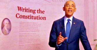 """Usa 2020, l'assalto dei leader dem a Trump: """"Non è in grado di fare il presidente"""". Obama: """"Democrazia in gioco"""". E Harris si commuove"""
