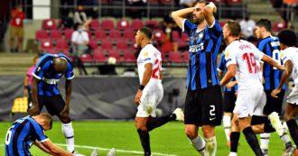 L'Inter regala la coppa al Siviglia e non salva il calcio italiano in Europa.  Barella e Lukaku, il nervosismo di Conte: cosa si salva e cosa no