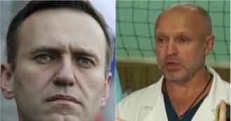 """Alexei Navalny, i medici: """"Nessun veleno rilevato nel sangue. Trasferimento? Troppo presto, è instabile"""""""
