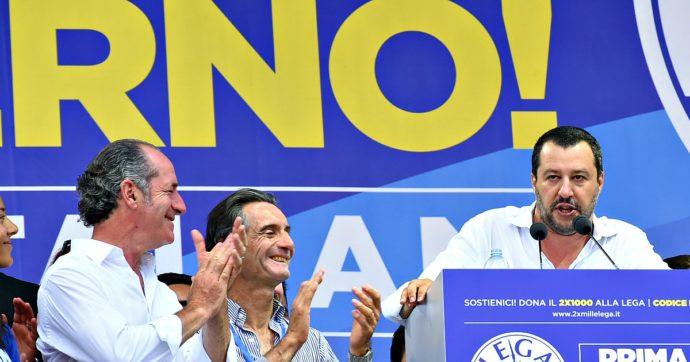 """Coronavirus, il cortocircuito della Lega. Salvini: """"Emergenza? No, chi lo dice è in malafede"""". Fontana e Zaia: """"Dati preoccupanti"""""""
