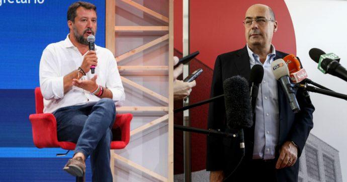 """Zingaretti e Salvini se le danno a distanza. Il segretario dem: """"Covid? Con lui sarebbe stata un'ecatombe"""". Il leghista: """"È lui la catastrofe"""""""