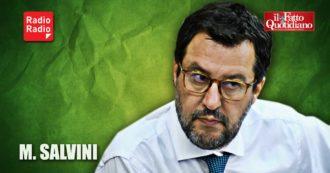 """Per Salvini l'aumento dei contagi è un'invenzione dei giornalisti: """"Coro unanime per creare allarme che non c'è"""""""